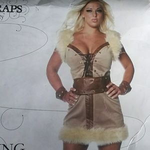 Wild Thing Viking Women's Costume Large